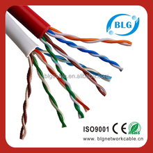 High Twisted Pair Cat5e UTP Cable LSHF ATM 155Mbps Network
