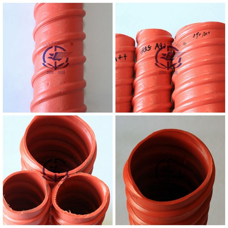 Dia 55mm Prestressing corrugated plastic duct for prestressing