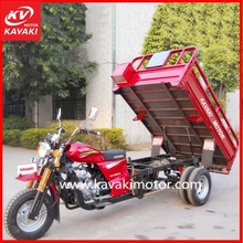 150cc gas powered three wheel agricultural tractors trailers / 3 wheel cargo electric scooter motorcycle on sale