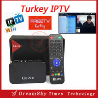 Free forever watching iptv premium ulive Turkey iptv android TV box all latest Turk ATV STV TRT Sports TV over 70 channels