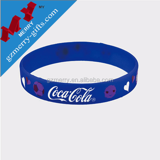 Custom silicon wristband   rubber bracelet   plastic wrist band