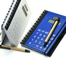 Presente para 80 ano homem Notebook com calculadora