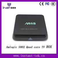wholesale android smart tv box Amlogic S802 Quad core K-M8S