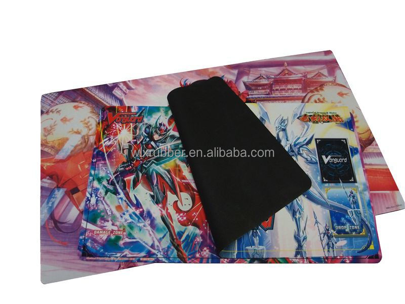 tapis de jeu de carte personnalisé paymat custom