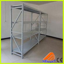 china supplier good quality metal bars storage angle iron rack,storage step beam shelving,steel storage rack