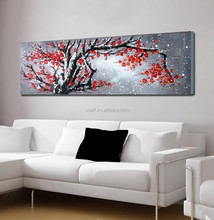 Chinese Painting Abstract Textured Canvas Wall Art