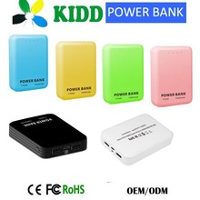 New Universal Portable Power Source with 2 usb Port 10400mah
