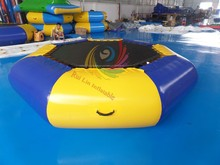 2015 best popular inflatable water jumping float for water park