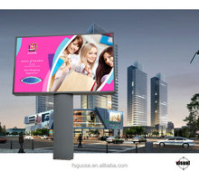 Curved corner Shape and Aluminum Material LED Frameless advertising product