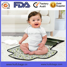 Waterproof baby changing pad Full printing baby changing mat
