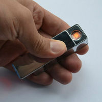 with USB rechargeable metal Lighter brand new promotional items