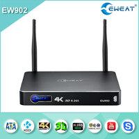 Eweat Android full hd 1080pTV BOX Realtek 1195 3d MKV Bluray ISO Media Player