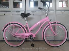 sport 26 inch cheap beach cruiser bikes with OEM
