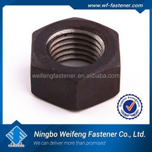 china high quality color zinc plated Astm A194 2H Heavy Hex Nut manufacturer & supplier & exporter