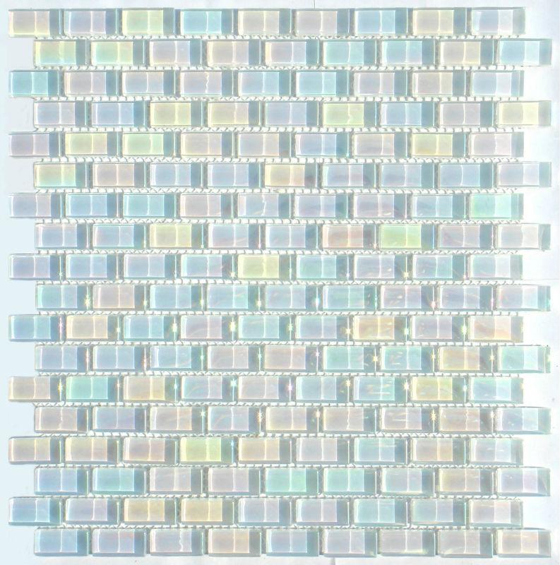 lustre de mosaico de vidro cristal
