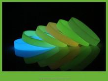 glow in the dark reflective slap bracelet,neon snap band bracelet