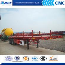 CIMC 40ft 3 Axle FlatBed Semi Trailer For Sale