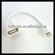 USB OTG Cable for Apple iPhone5