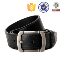 retail vintage men's genuine leather belt with pin buckle