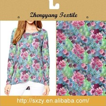 Digital printed new designing polyester fabrics for clothing