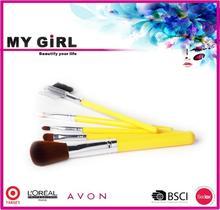 MY GIRL make up brush bags alibaba B2B cute custom wholesale 10pcs makeup brush set