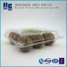hot sale disposable blister packing clamshell fruit vegetable container and market clear disposable blister fresh fruit packing