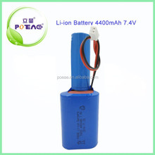 Rechargeable 18650 4400mAh 7.4V Li-ion Battery Pack