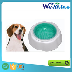High Quality Lovely Pet Dog Cat Feeding Food Water Single Frosty Pet Bowl, Pet Food Bowl