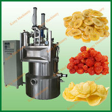 double tank vacuum frying machine / vacuum fryer for fruit and vegetable chips