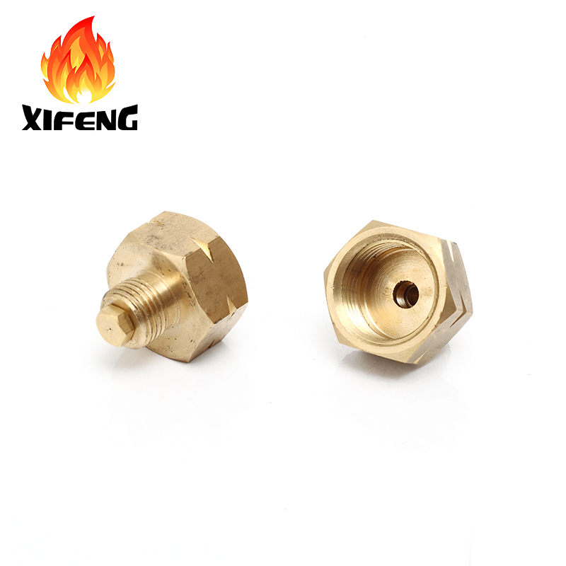 Excelente qualidade de bronze válvula de controle de gás glp para fogão
