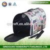 Qingquan Handicraft Wholesale Folding Pet Carrier Plastic & Cardboard Pet Dog Bag Carrier