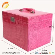 2015 Fashional leather charms pandora jewelry box wooden jewelry box
