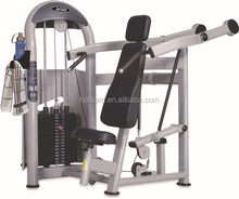 Oval tube Shoulder Press life fitness equipment sports fitness
