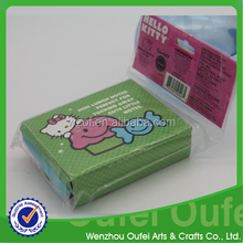 Folding memo pad with cute sticky notes and mini envelope,two mode in one set