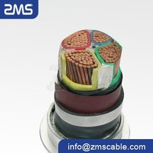 PVC insulated copper NYY electrical power cable for construction