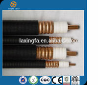 Hangzhou cable manufacturer Promotion High Quality 50ohm 7/8'' RF Coaxial cable with competitive price