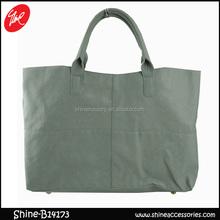 Rectangular tote bag/PU shopping bag/luxury tote handbag