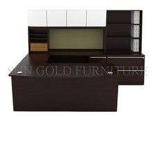 First rate U shape executive with vice filing cabinet office desk (SZ-OD353)