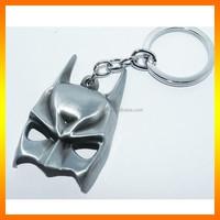 2015 Latest Design Batman In Box Mask Metal Keychain