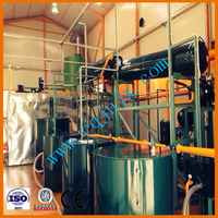 Best technology small-scale car/truck oil refinery for base oil ! ZSA china used lube oil recovering