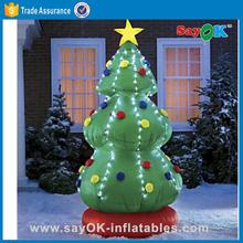 Lighting christmas tree for christmas decoration