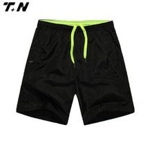 Mens plain nylon running shorts