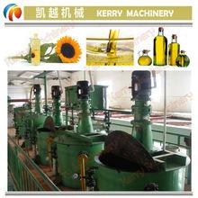 Peanut oil refinery