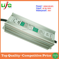 100W ac85~265V 3000ma constant current IP67 waterproof led driver for led light LZ-WPA16B