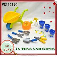 2014 new intelligence kids plastic garden tool toys