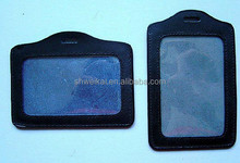 Plastic id card holder,PVC card holder, packing holder for card