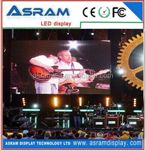 P6mm hd super thin mobile clear video display led screen wall advertising boards for stage events