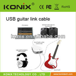 cheap price with high quality alesis guitar link usb cable