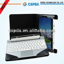 New Arrival Black Leather Keyboard Case For Acer Iconia Tab W510 Tablet