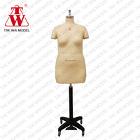 Fashionable life female size 46 half body dummy dress form mannequin doll